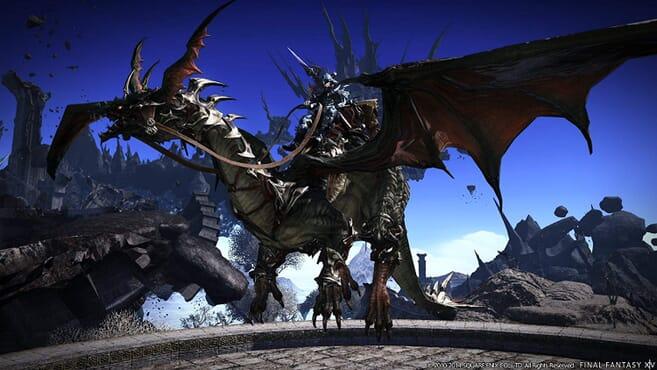 PS4 HeavenSward Final Fantasy XIV