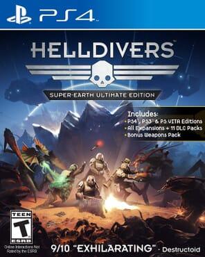 PS4 Helldivers