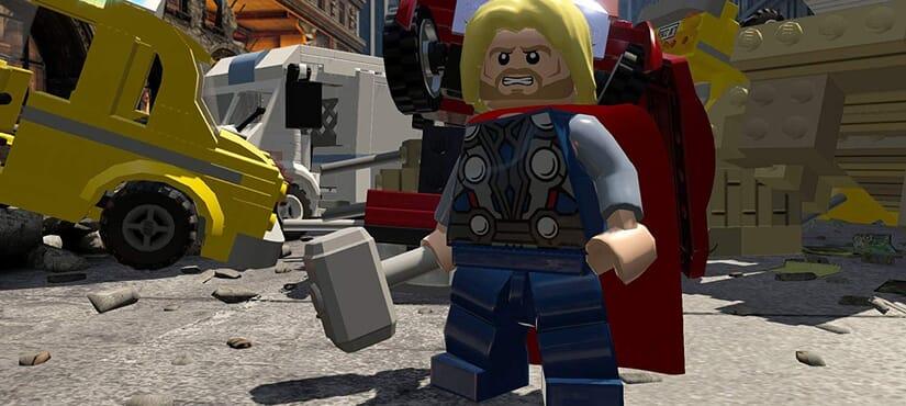 PS4 LEGO MARVEL AVENGER