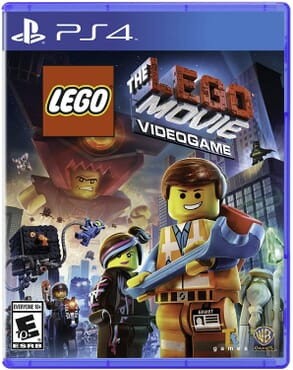 PS4 LEGO MOVIE