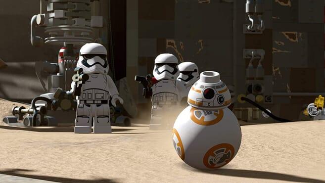 PS4 LEGO STARWARS FORCE AWAKEN