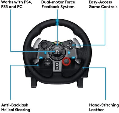 PS4 LOGITECH G29 DRIVING WHEEL