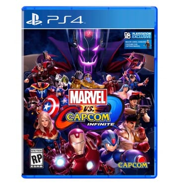 PS4 MARVEL VS CAPCOM