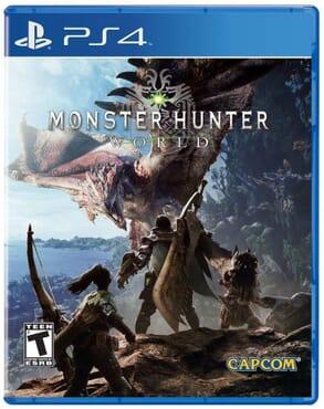PS4 MONSTER HUNTER-WORLD