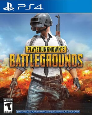 PS4 PLAYERUNKNOWN'S BATTLE GROUNDS