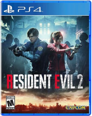 PS4 RESIDENT EVIL 2 REMAKE