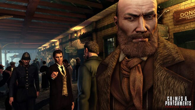 PS4 SHERLOCK HOLMES-CRIMES AND PUNISHMENTS