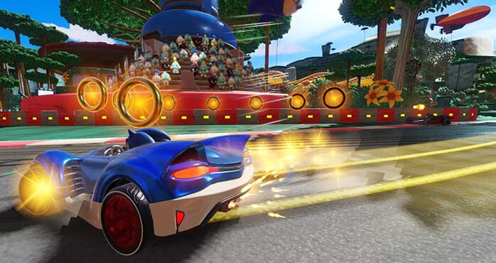 PS4 SONIC TEAM RACING