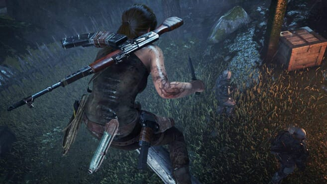 PS4 Tomb Raider--RISE OF TOMB RAIDER