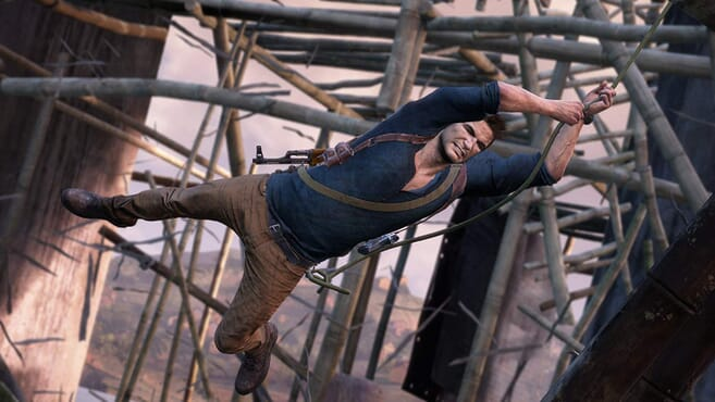 PS4 UNCHARTED 4- A THIEF END
