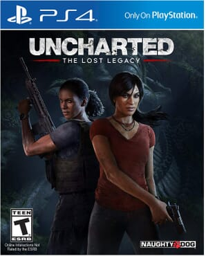PS4 UNCHARTED LOST LEGACY