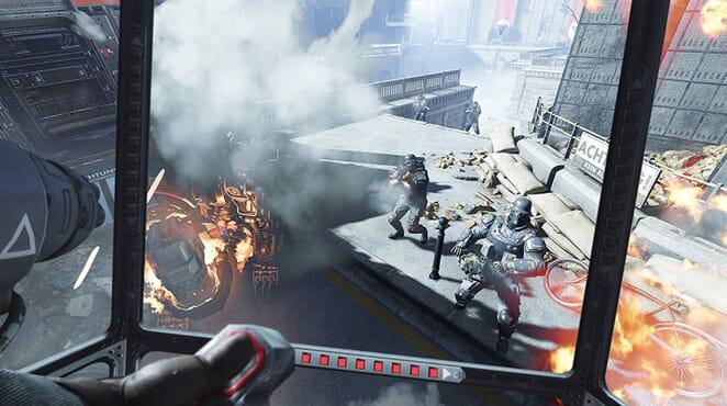 PS4 WOLFENSTEIN CYBERPILOT VR