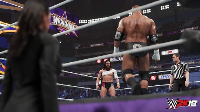 PS4 WWE2K 19