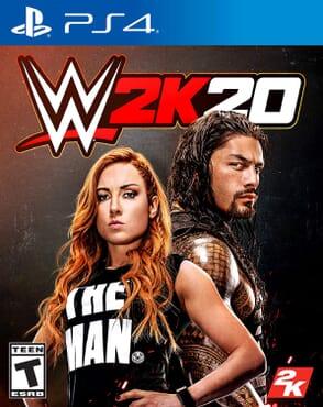 PS4 WWE2K 20