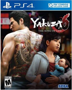 PS4 YAKUZA 6