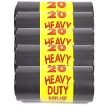 Pack of 5 Heavy Duty Refuse Nylon