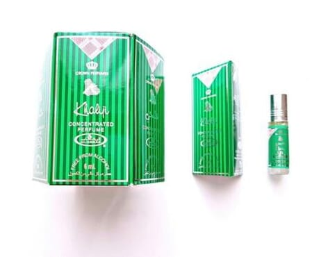 Al-Rehab Khaliji perfume Roll on (36ml) 1 pack of six bottles