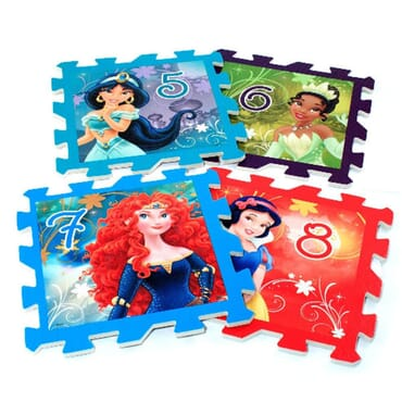 Disney Princess Puzzle Mat