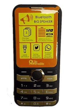 Q70000 Feature Phone 20000mah - 3sim