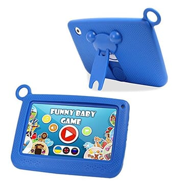 Qtab Q55 Kids Android 4.4 Tablet - Blue