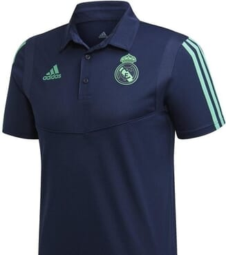 REAL MADRID PRE-MATCH POLO-BLUE