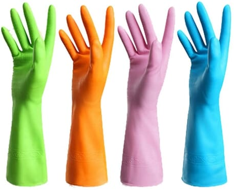 Reusable Nitrile Gloves (Long lasting) 1 Pair