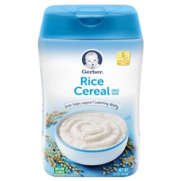 Gerber Rice Cereal