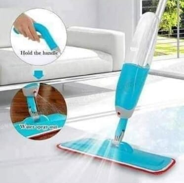 Non-electric Healthy spray magic mop with water can