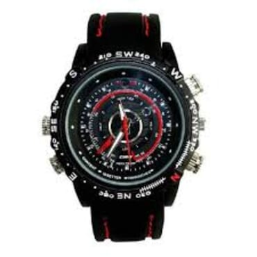 SC Waterproof 4GB Silicon Spy Camera Wrist Watch
