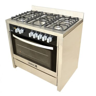 SCANFROST SFC-9502SS GAS COOKER (STEEL FINISH)