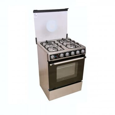 SCANFROST SFC-6402 GAS COOKER (STEEL FINISH)