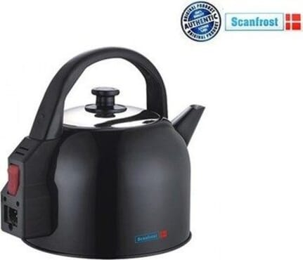 Scanfrost SFKE 18 4.3L Stainless Steel Black Spray Kettle