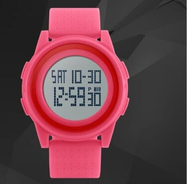 Skmei 1206 Thin Pink Sport Watch