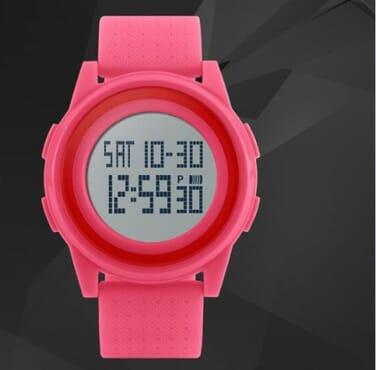 Skmei 1206 Thin Pink Sport Watch