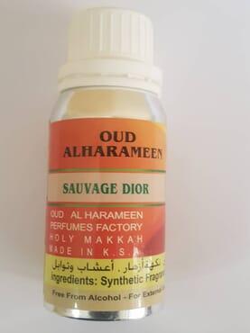 Sauvage Dior Perfume Oil ,Oud Alharameen 100ML