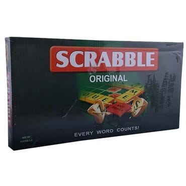 Mattel Scrabble - Every Word Counts