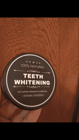 Activated Charcoal Teeth Whitening Powder