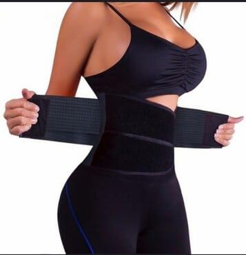 Xtreme Belt Hot Power Slimming Belt Body Shaper Waist Trainer Trimmer Sport Gym Suana Sweating Fat Burning