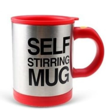 Self Stiring Mug - Red
