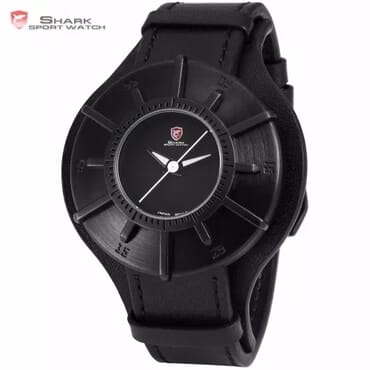 Shark Silky Sport Leather Watch