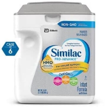 Similac Abbott Pro-advance Infant Formula - 964g x 6 Packs