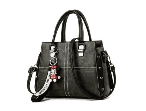 Solid Pattern Women Handbag - Green