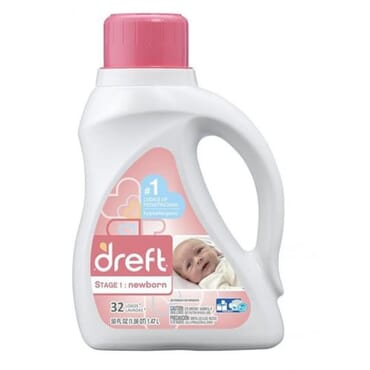 Dreft Stage 1 Newborn 32 LOads