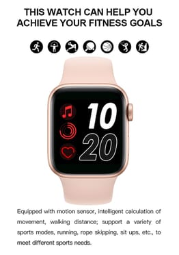 T500 Smartwatch 2020 Series 5