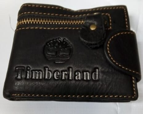Timberland Men's Leather Wallet-Black