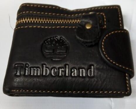 Timberland Men's Leather Wallet-Black