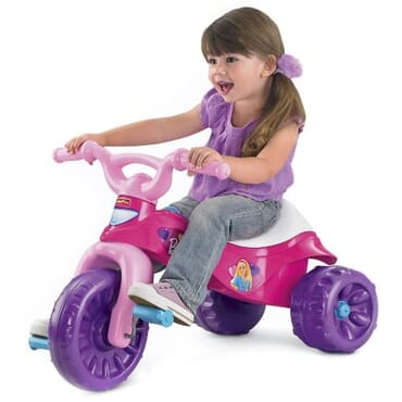 Tough Trike Girls Tricycle 24mos To 6yrs Storage Compartment