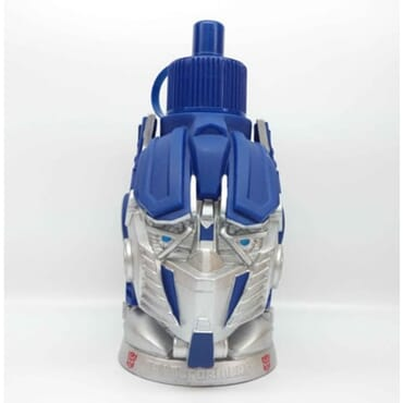 Transformer Water Bottle for Kids - Blue