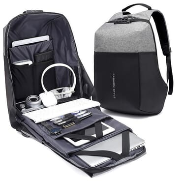 USB Anti-Theft Laptop Backpack