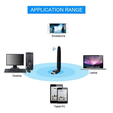 USB WiFi Wireless Adapter /Dongle Boost Signal Router